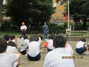 東星学園 校長 大矢正則 カトリック ミッション 男女 防災避難訓練(7)