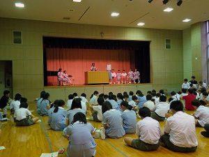 東星学園 校長 大矢正則 カトリック ミッション 男女 後期児童会役員選挙(1)