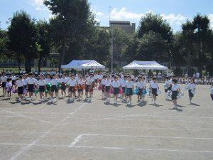 東星学園 大矢正則校長 カトリック ミッション 男女 体育祭合同練習(3)