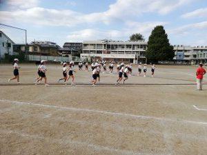 東星学園 校長・大矢正則 清瀬 私立 小学校 体育祭練習(高学年)(2)
