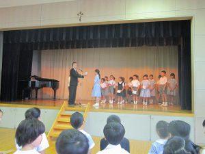 東星学園 校長 大矢正則 2019年 清瀬 私立 小学校 後期始業式(4)