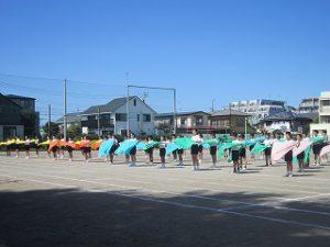 東星学園 校長 大矢正則 清瀬 私立 小学校 体育祭合同練習(4)