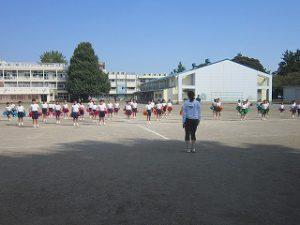 東星学園 校長・大矢正則 カトリック ミッション 男女 「低学年体育祭ダンス練習」(5)