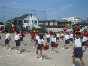 東星学園 大矢正則校長 清瀬 私立 小学校 「低学年体育祭ダンス練習」(6)