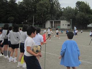 東星学園 校長・大矢正則 清瀬 私立 小学校 小学生・選抜リレー(2)