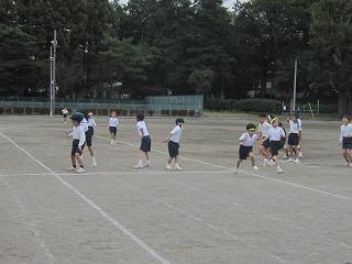 東星学園 大矢正則校長 カトリック ミッション 男女 小学生・選抜リレー(1)