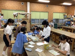 東星学園 校長 大矢正則 清瀬 私立 小学校 バザーに向けて(2)