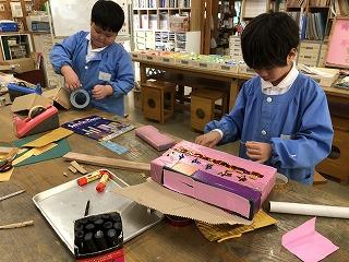 東星学園 校長 大矢正則 清瀬 私立 小学校 展示会に向けて(低学年)(4)