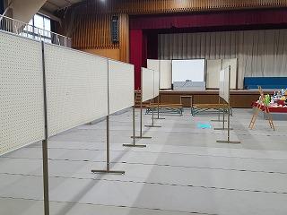 東星学園 校長・大矢正則 清瀬 私立 小学校 展示会準備(高学年)(2)