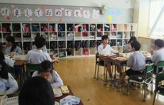 東星学園 校長 大矢正則 カトリック ミッション 男女 鏡開き献立(7)