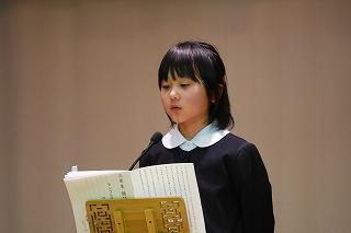 東星学園 校長 大矢正則 カトリック ミッション 男女 「低学年朗読大会」(13)