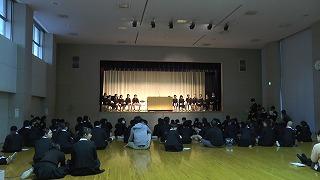 東星学園 校長 大矢正則 カトリック ミッション 男女 児童会役員選挙と認証式(1)