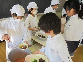 東星学園 校長・大矢正則 清瀬 私立 小学校 学校給食週間(8)