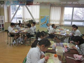 東星学園 校長 大矢正則 清瀬 私立 小学校 学校給食週間(4)
