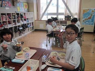 東星学園 大矢正則校長 カトリック ミッション 男女 学校給食週間(3)