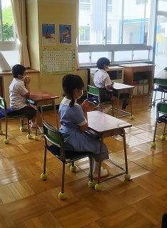 東星学園 校長・大矢正則 清瀬 私立 小学校 学校再開~1年生・あさがおの観察~(2)