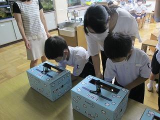 清瀬 私立 小学校 東星学園 校長 大矢正則 花王の手洗い講座(6)