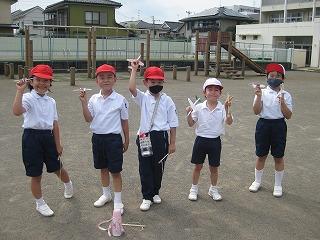 清瀬 私立 小学校 東星学園小学校 校長 大矢正則 ミニひこうき大会(4)