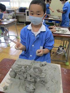 清瀬 私立 小学校 東星学園 大矢正則校長 1,2年生 粘土を使って(8)