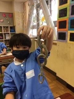 カトリック ミッション 男女 東星学園 校長 大矢正則 1,2年生 粘土を使って(1)