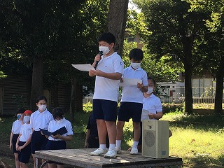 東星学園 校長 大矢正則 カトリック ミッション 男女 保健委員会の活動(1)