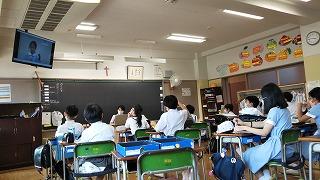 カトリック ミッション 男女 東星学園小学校 大矢正則校長 児童会役員選挙3