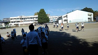 カトリック ミッション 男女 東星学園 校長 大矢正則 防災避難訓練①