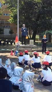 カトリック ミッション 男女 東星学園 校長 大矢正則 防災避難訓練⑤