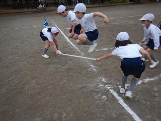 清瀬 私立 小学校 東星学園 大矢正則校長 運動会・体育祭競技(6)