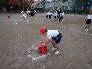 カトリック ミッション 男女 東星学園 大矢正則校長 運動会・体育祭競技(7)