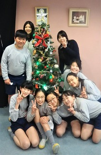 東星学園 大矢正則校長 カトリック ミッション 男女 クリスマスまであと少し(3)