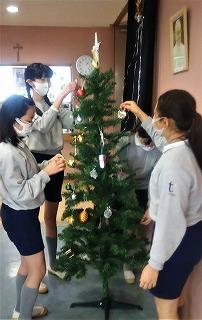 東星学園 校長・大矢正則 清瀬 私立 小学校 クリスマスまであと少し(2)