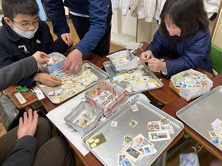 カトリック ミッション 男女 東星学園 校長 大矢正則 2月の児童ボランティア(2)