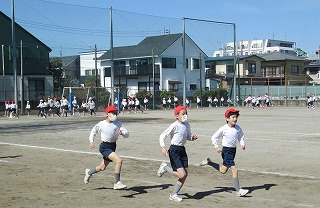 カトリック ミッション 男女 東星学園 大矢正則校長 Run Run Run Day(1)
