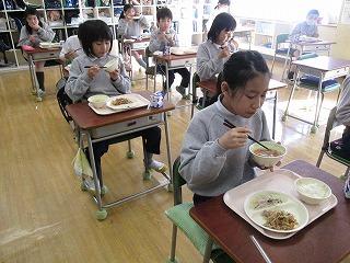 清瀬 私立 小学校 東星学園 大矢正則校長 学校給食週間(6)