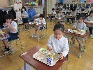 清瀬 私立 小学校 東星学園 校長 大矢正則 大好きな給食(2)