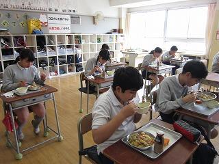 清瀬 私立 小学校 東星学園 校長 大矢正則 大好きな給食(4)