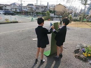 東星学園 校長・大矢正則 清瀬 私立 小学校 児童ボランティア(2)