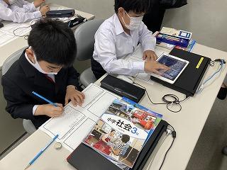 カトリック ミッション 男女 東星学園 大矢正則校長 授業参観(1)