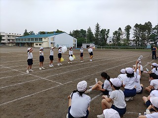 清瀬 私立 小学校 東星学園 大矢正則校長 高学年合同練習(2)