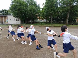 カトリック ミッション 男女 東星学園 大矢正則校長 高学年合同練習(1)