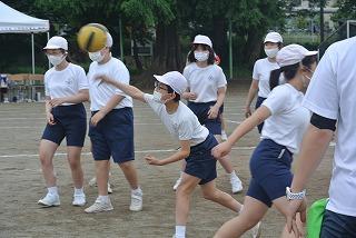 カトリック ミッション 男女 東星学園 大矢正則校長 久しぶりの運動会(5)
