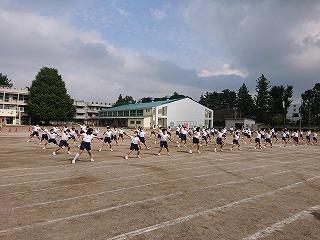 カトリック ミッション 男女 東星学園 校長 大矢正則 体育祭(3)